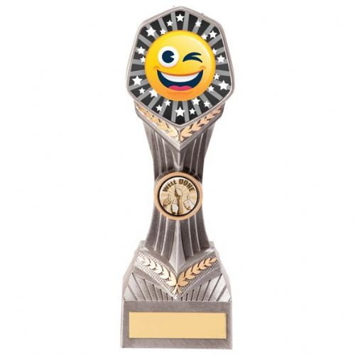 Falcon Emoji Winking Face Award 220mm